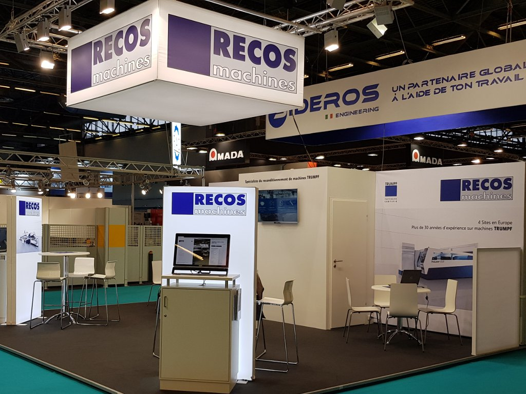 Stand RECOS machines : Tolexpo 2018