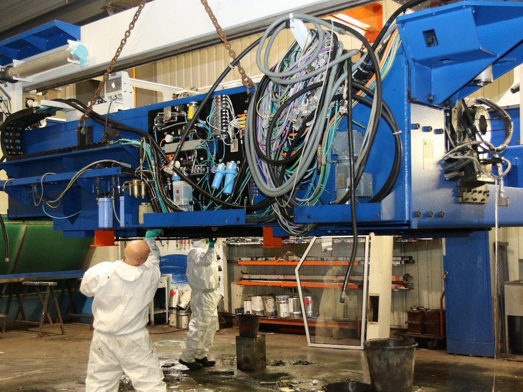 Révision d'une laser TRUMPF