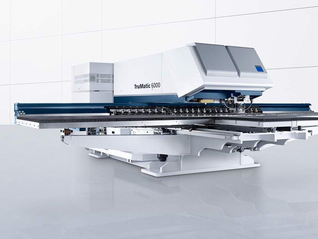 Machine combinée poinçonnage/laser : TruMatic 6000