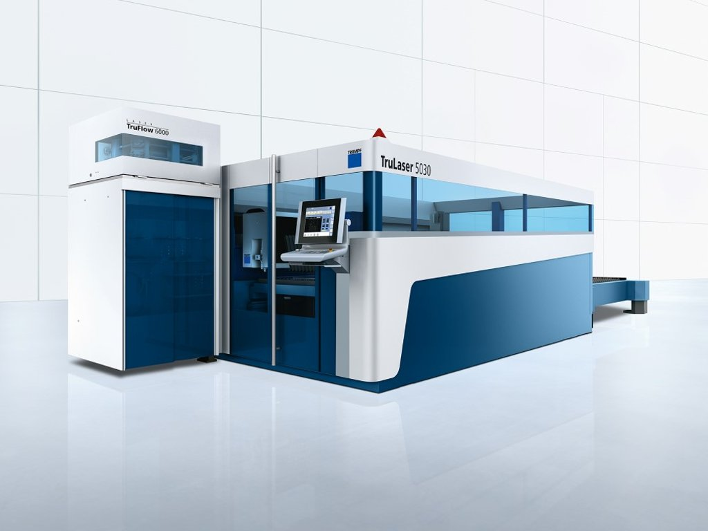2D laser cutting machine : TruLaser 5030
