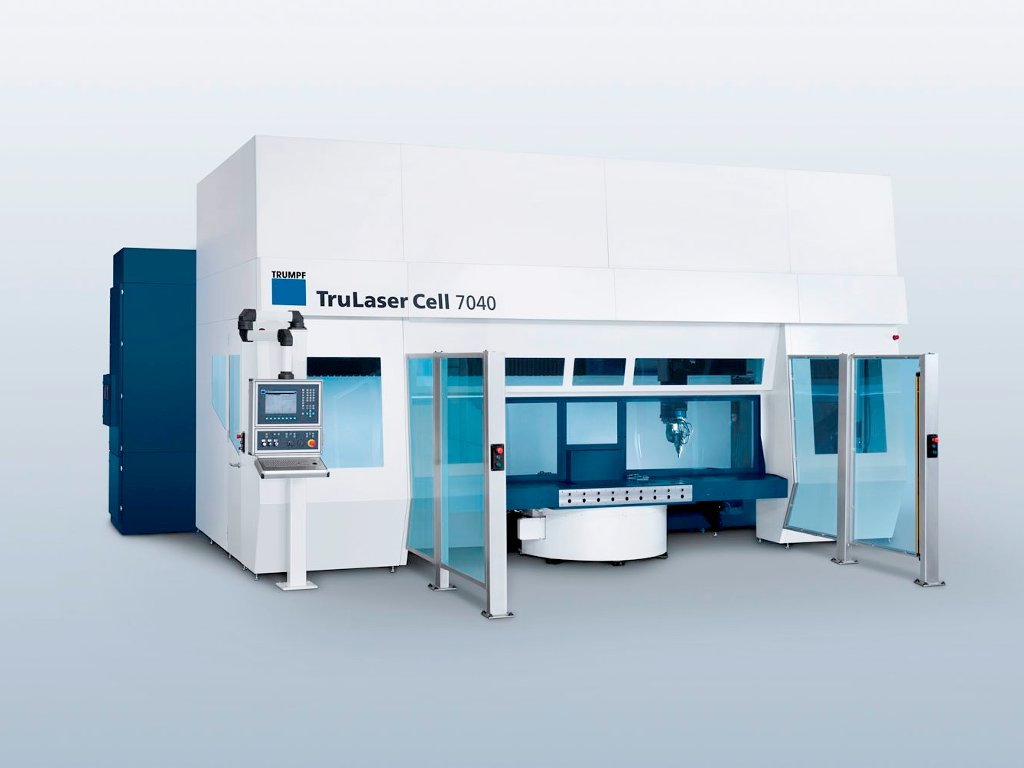 3D machining : TruLaser Cell 7040