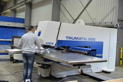 Werkstatt von RECOS machines