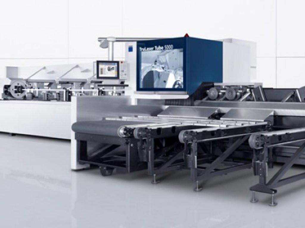 Laser-Rohrschneidemaschine : TruLaser Tube 5000