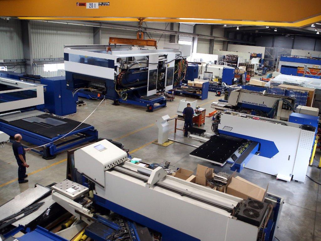 RECOS machines: unsere Werkstatt